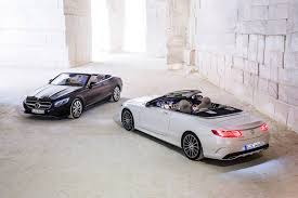 convertible mercedes black 2017 mercedes benz s500 u0026 s63 amg cabriolet review gtspirit