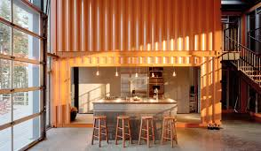 shipping container home interior industrial shipping container architecture