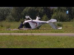ct light sport aircraft 06 sept 2017 flight design ctsw g deft plane crash charnay