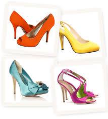 Wedding Shoes Cork Bright Coloured Wedding Shoes Fun Bridal Shoes Onefabday Com
