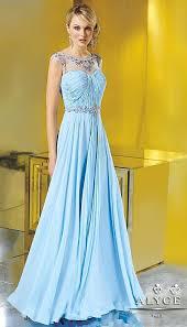 alyce jean de lys 29618 flowy silky chiffon evening dress french