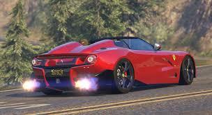 Ferrari F12 Back - ferrari f12 trs u0026 f60 america add on tuning livery gta5