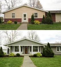 before and after home exteriors best 25 ranch house exteriors