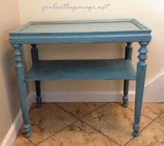 Blue Table Painting by Painting A Table Awesome Painted Garden Furniture Orange U Aqua