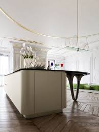 island kitchen design pictures tags unusual sculptural kitchen