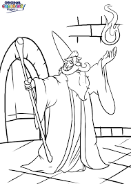 wizards u2013 coloring pages u2013 original coloring pages