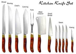 basic kitchen knives 5 basic kitchen knives you need to in your household psst