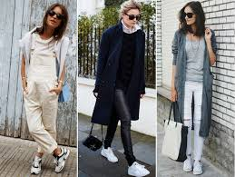 5 exciting ways to rock white sneakers u2013 chic street style