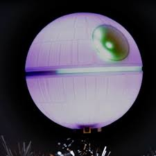 star wars death star christmas tree topper the green head