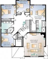 plan de maison 5 chambres dé du plan de maison unifamiliale w3435 regarding 18 incroyable