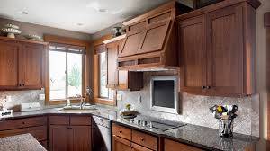 what backsplash looks with cherry cabinets cherry wood cabinets pacific northwest artisan highcraft