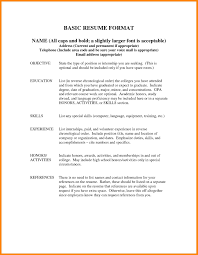 How To List Your Degree On A Resume 89 Exciting Resume Template Examples Of Resumes Reference Page