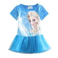 buy casual dresses clothes princess dress kids wear beach
