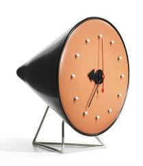 Herman Miller Clock Clocks With No Numbers Make Me Happy George Nelson Cone Clock