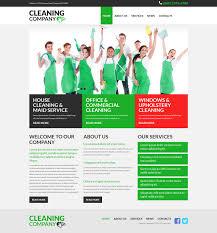 Bathroom Design Template Website Design 52683 Cleaning Company Services Custom Website