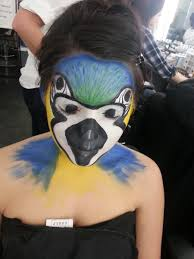 theatrical makeup classes theatre makeup parrot painting by xxparkin deviantart on
