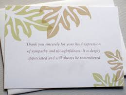 funeral thank you notes cragman writing thank you notes after the funeral