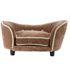 Enchanted Pets Mocha Tufted Pet Sofa Bed TK Maxx BENJIS - Tk maxx home furniture