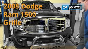 2007 dodge ram grille how to replace install 2006 08 dodge ram 1500 grille buy quality