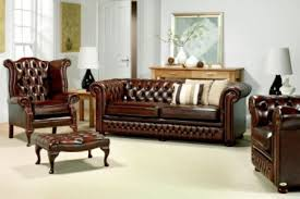 Chesterfield Sofa Leather Chesterfield Sofa At Rs 350000 Leather Sofa Id