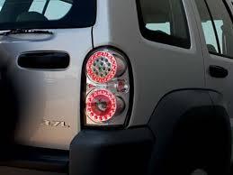 2004 jeep liberty tail light ipcw jeep liberty led tail lights autotrucktoys com