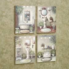 themed bathroom wall decor decor tips 4 decorative wall plaques for attractive