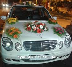 wedding car rental hyderabad decorated car for wedding wedding
