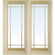 white glass interior doors mmi door 62 in x 81 75 in classic clear glass full lite