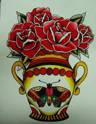 25 best classic tattoo flash butterfly images on pinterest