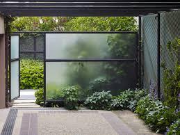 outdoor glass wall panels btca info examples doors designs