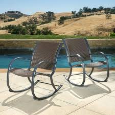 Swivel Rocking Chairs For Patio Patio Rocking Chair Seashell White Patio Rocker Swivel Rocker