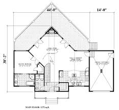 cabin style house plan 3 beds 2 50 baths 2344 sq ft plan 138 349