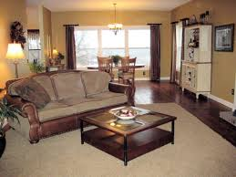 Two Seater Sofa Living Room Ideas Square Brown Wooden Coffee Table Storage And Gray Seater