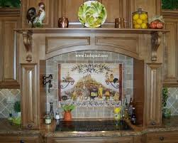 kitchen backsplash medallions kitchen backsplash murals mosaic medallions and accent tiles
