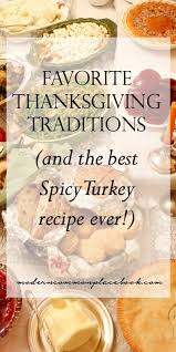 favorite thanksgiving traditions crafts recipes