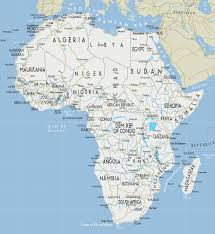 africa map all countries large road map of africa