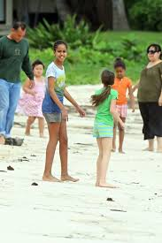 Vacation Obama Sasha Obama Photos Photos Obama Family Vacation In Hawaii Zimbio