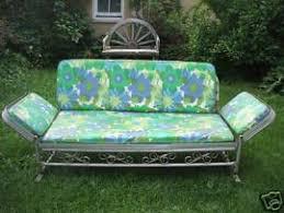 cost to ship antique j r bunting aluminum sofa porch glider