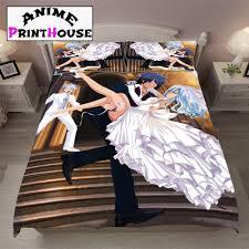 fairy tail gray u0026 juvia bed set sheets blanket u0026 covers online