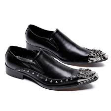 wedding shoes daily 2017 new leather men dress shoes studded evening party wedding