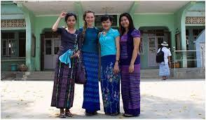 mytrails dk burmese traditional dress