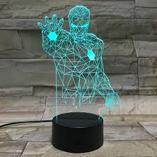 Iron Man Night Light Aliexpress Com Buy Iron Man Night Light Touch Switch Desk Lamps