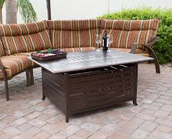 rectangle propane fire pit table innovative wayfair propane fire pit quality aluminum outdoor pits