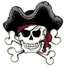 skull and bones skull and crossbones piracy clip pirate skull
