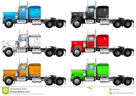 Image Of Truck Kenworth W900 Stock Photo Image 64086230
