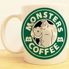 monsters coffee mug mike sully starbucks disney