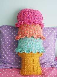 diy home decor knit and crochet patterns rainbow sherbet