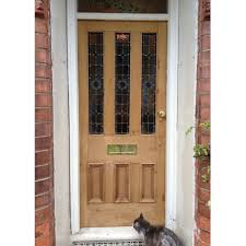victorian 6 panel stained glass door buy from phs