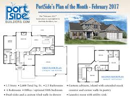 600 Sq Ft Office Floor Plan Home Plan Of The Month Portside Builders U2022 New Home Ideas