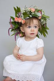 flower girl wedding this diy crown is a must for your flower girl
